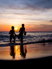 Beach Boys Sunset