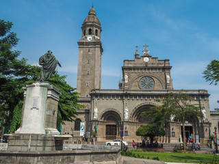 manila cathedral , manila city, Philippines