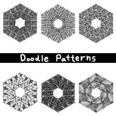 doodle black line pattern background designs,the art of creative zentangle pattern