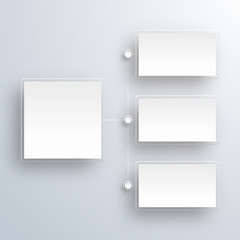 Crystal White Label, Flow Chart #Vector Background