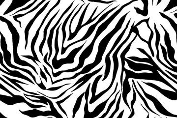 Zebra pattern image
