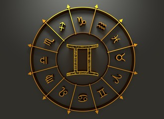 Astrology symbol gemini