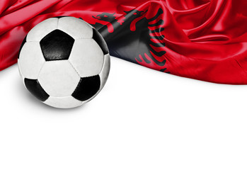 Banner Fußball Albanien