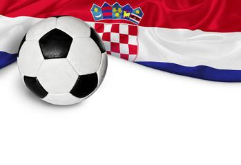Banner Fußball Kroatien