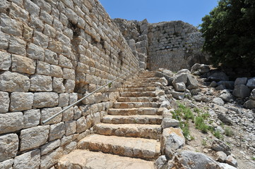 The Nimrod fortress, Golan heights, Israel