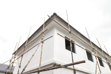 The construction of building home.