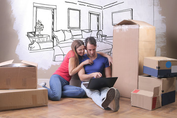 Moving to the new house