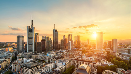 Frankfurt am Main Sunset