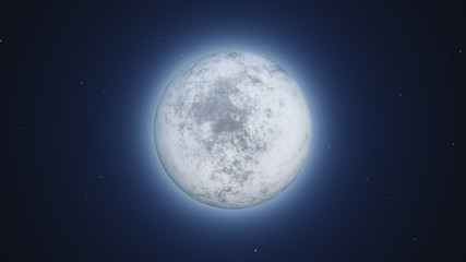 moon and halo