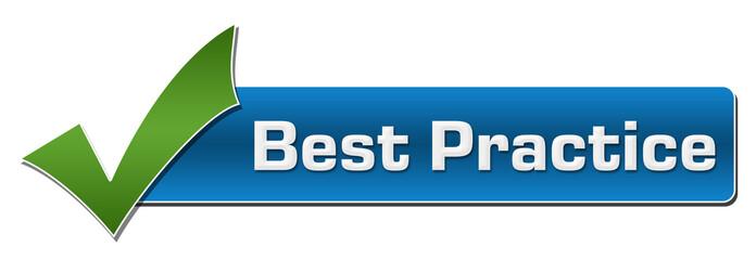 Best Practice Blue Green Tickmark