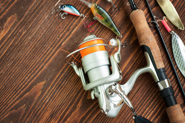 Fishing tackles and fishing gear