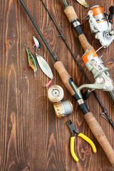 Fishing tackles and fishing gear