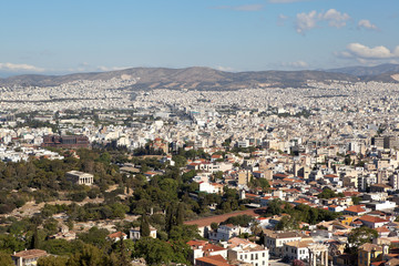 Greece. Athens. View from above, from the Acropolis.