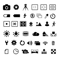 Camera settings icon