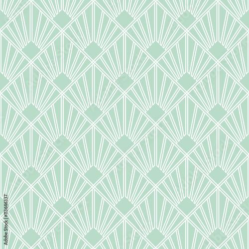 quotart deco seamless vintage wallpaper pattern geometric