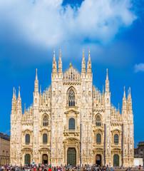 Fototapete - Milan Cathedral, Duomo