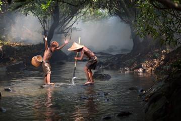 Boys Fisherman