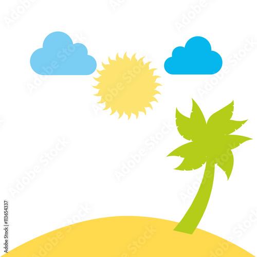 """Landscape Design In A Day: """"beutiful Beach Day Landscape Design"""" Stockfotos Und"""