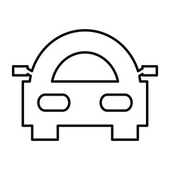 car isolated icon design