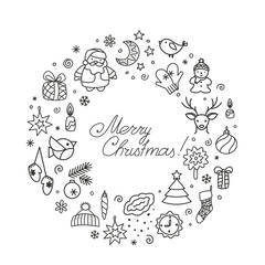 Backgrounds with icons - New Year, Christmas, winter