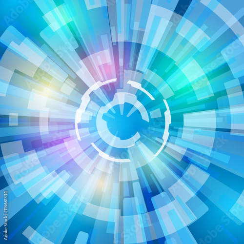 concentration line and light ray abstract illustration fotolia com