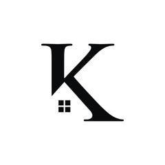K initial logo