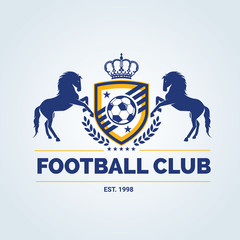 Soccer Club logo,soccer logo,Football logo,vector logo template