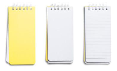 Photo sur Plexiglas Spirale paper page notebook.