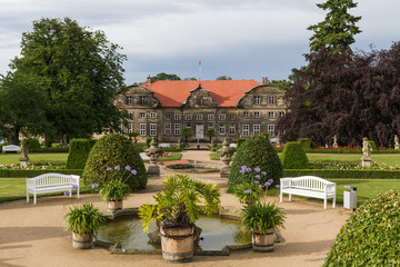 Fototapeta Blankenburg Harz Schlosspark