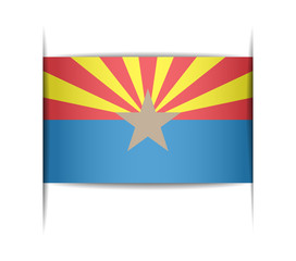 Flag of the state of Arizona.