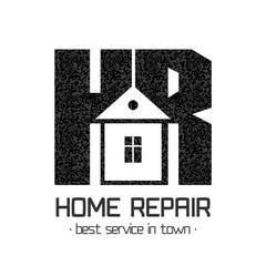 House repair vector logo, badge, design element