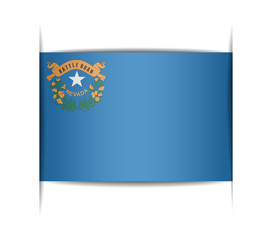 Flag of the state of Nevada.