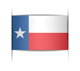 Flag of the state of Texas.