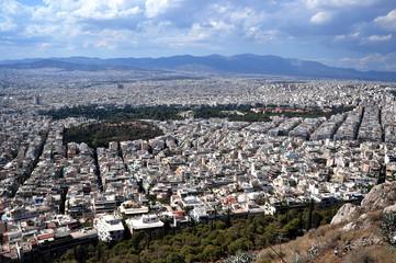 Panorama Athens vom Lykavittos