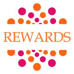 Rewards Pink Orange Dots Circular