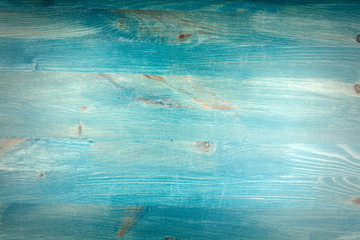 Blue wood plank texture