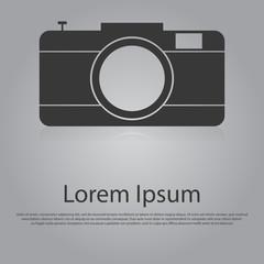 Vector icon of Digital Camera