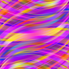 Colorful smooth light lines background. Violet, pink, purple, blue colors
