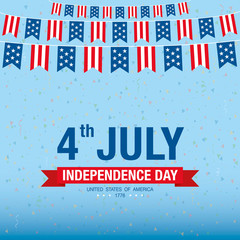 independence day 4 th july. happy independence day.