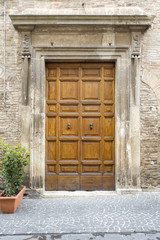 typical italian door