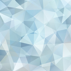 abstract background consisting of light gray, blue triangles