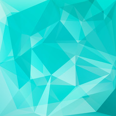 abstract background consisting of light blue triangles