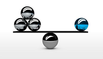 Business Quality Vs Quantity Concept