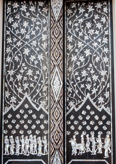 thai tradition with Thai pattern