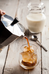 Coffee with Milk and Ice