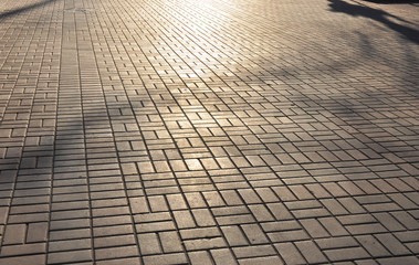 pavement textured background Wall mural