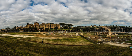 Palatine Hill in Rome, Italy