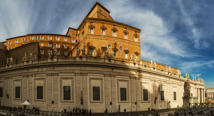 Apostolic Palace is residence of Pope, Vatican