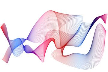 fond graphique - courbe - ligne - fumée