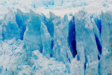 Poster Glaciers Perito Moreno, Patagonia